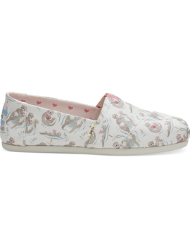 Love Otters Canvas Women's Classics by Toms