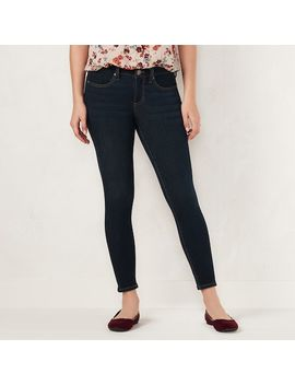 Petite Lc Lauren Conrad Feel Good Super Skinny Midrise Jeans by Kohl's