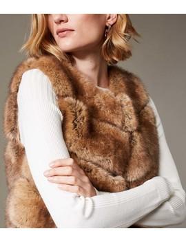 Faux Fur Gilet by Wd001