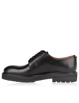 Blunt Derby Shoes by Valentino