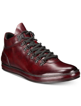 Men's Brand Tour Leather Sneakers by Kenneth Cole Reaction