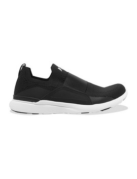 Tech Loom Bliss Mesh And Neoprene Slip On Sneakers by Apl Athletic Propulsion Labs