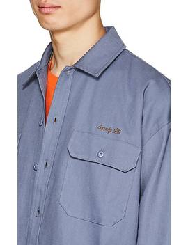 Logo Cotton Twill Workshirt by Dickies Construct
