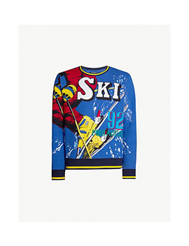Graphic Ski 92 Jersey Jumper by Polo Ralph Lauren