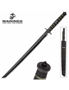 United Cutlery Uc3157 Brk Usmc Blackout Combat Sword by United Cutlery