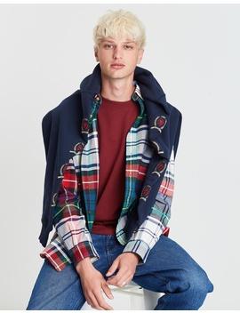 Plaid Crest Shirt   Men's by Tommy Jeans