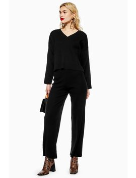 Ribbed Trousers by Topshop