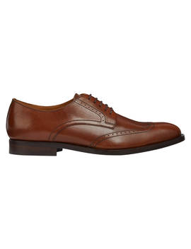 Geox Hampstead Derby Brogues, Brown by Geox