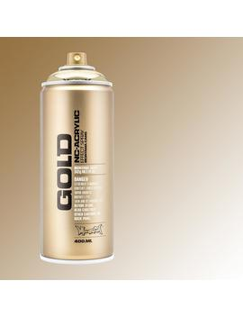 13 Oz. Gold Chrome Spray Paint by Montana