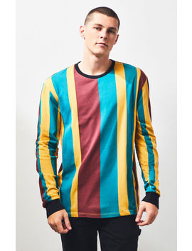 Pac Sun Way Stripe Long Sleeve T Shirt by Pacsun