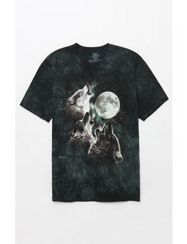 Wolf Washed T Shirt by Pacsun