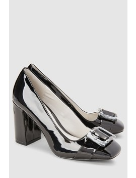 Buckle Detail Court Shoes by Next