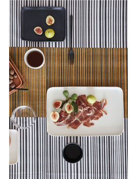 Slub Weave Cotton Tablecloth by H&M