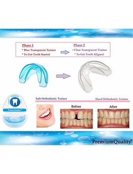 Orthodontic Teeth Trainer Kit Adult Teeth Straightener Phase 1 And Phase 2 by Ivorie