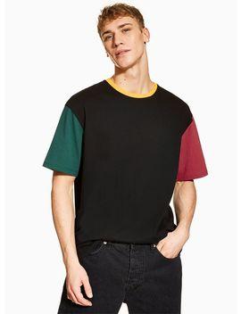Black Block T Shirt by Topman