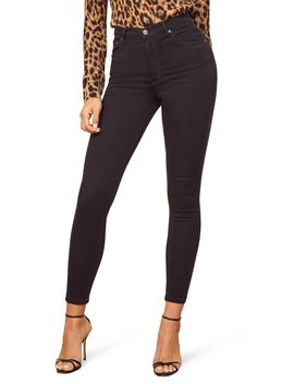 High & Skinny Crop Jeans by Reformation