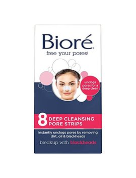 Biore Deep Cleansing Pore Strips For Nose, 8 Count by Bioré