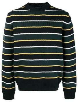 Striped Knit Sweater by Prada