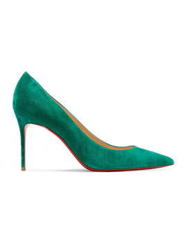 Décolleté 554 85 Suede Pumps by Christian Louboutin