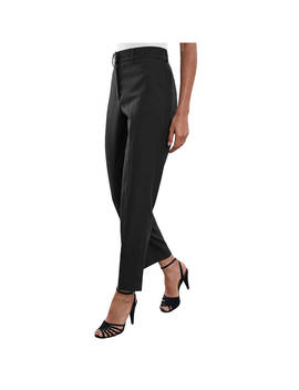 Reiss Lilli Tapered Tailored Trousers, Black by Reiss