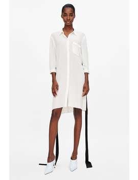 Robe À SurpiqÛres En Contraste  À Partir De 50 Percents Femme Soldes by Zara