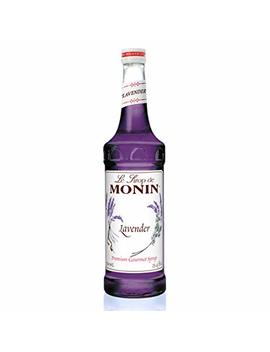 Monin   Lavender Syrup, Aromatic And Floral, Natural Flavors, Great For Cocktails, Lemonades, And Sodas, Vegan, Non Gmo, Gluten Free (750 Ml) by Monin