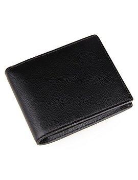 Polare Men's Rfid Blocking Vintage Italian Genuine Leather Slim Bifold Wallet Handmade by Polare