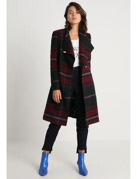 Skaalet Check Long Wrap Coat   Kåpe / Frakk by Ted Baker