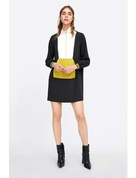 Block Color Shift Dress  New Inwoman New Collection by Zara