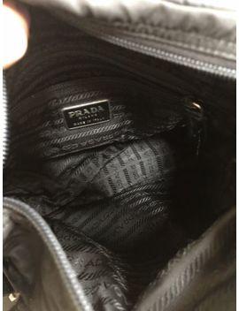 Prada Black Nylon Vela Flap Front Messenger Crossbody Bag Classic Chic!!!! by Prada
