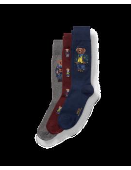 Blazer Bear Sock Gift Box by Ralph Lauren