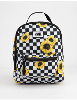 Vans Sunflower Check Mini Backpack by Vans