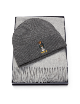 Polo Bear Hat & Scarf by Ralph Lauren