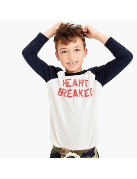 "Kids' ""Heartbreaker"" T Shirt by J.Crew"