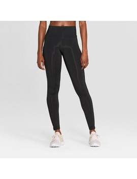 "Women's Training High Waisted Leggings 28.5""   C9 Champion® Black by C9 Champion®"
