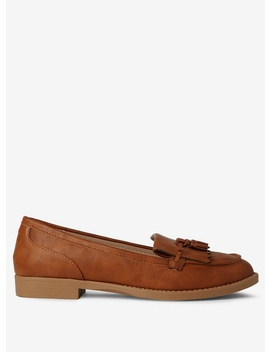 Tan Pu 'Laurie' Loafers by Dorothy Perkins