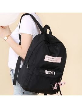 Canvas Love   Print Lightweight Backpack by Canvas Love