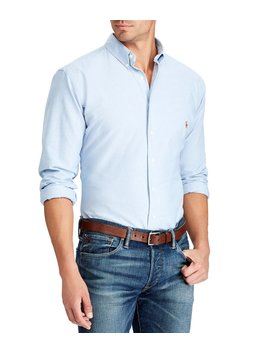 Big & Tall Classic Fit Oxford Sportshirt by Polo Ralph Lauren