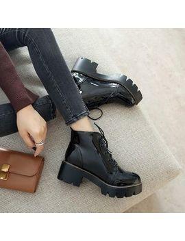 Citta   Platform Short Boots by Citta