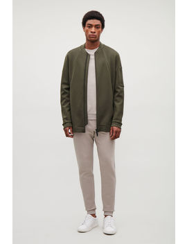 Long Bomber Jacket by Cos