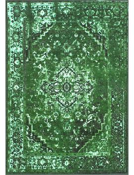 Ashlina Printed Persian Overdyed Vintage by Rugs Usa