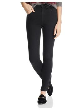 The Diamond Swooner High Rise Skinny Jeans In Not Guilty by Mother