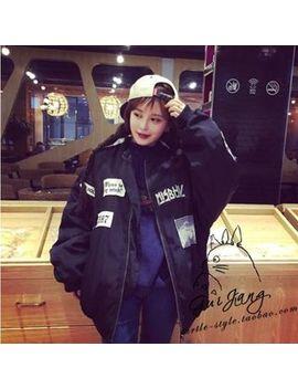Shimi   Applique Bomber Jacket by Shimi