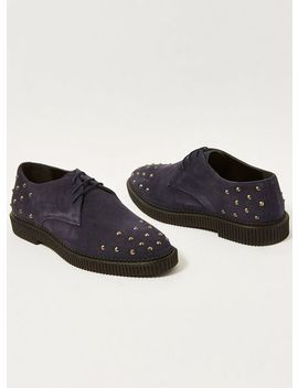 'mass' Stud Derby Shoes by Topman