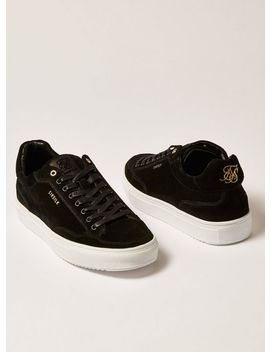 Sik Silk Black Suede Phantom Sneakers by Topman