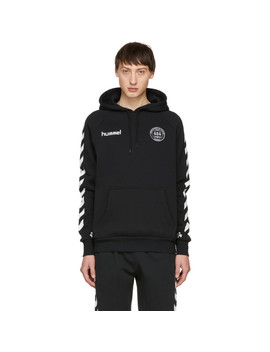 Black Hummel Edition Fleece Hoodie by 424