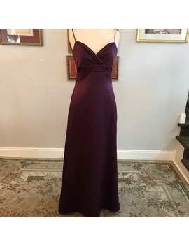 Simple Elegant Satin Dress   Nwt by Jim Hjelm Occassions