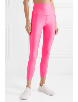 Tech Pack 2.0 Neon Stretch Leggings by Nike