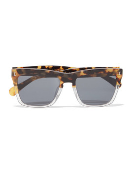 Los Feliz Square Frame Acetate Sunglasses by Illesteva
