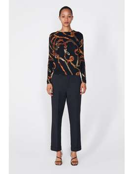 Printed Sweater  View All Knitwear Woman New Collection by Zara
